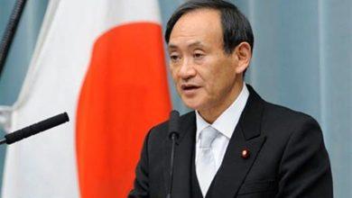 رئيس الوزراء الياباني يوشيهيدي سوجا