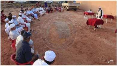 """احتفال بلدية جادو بوصول مياه أبار """"متلوي"""""""
