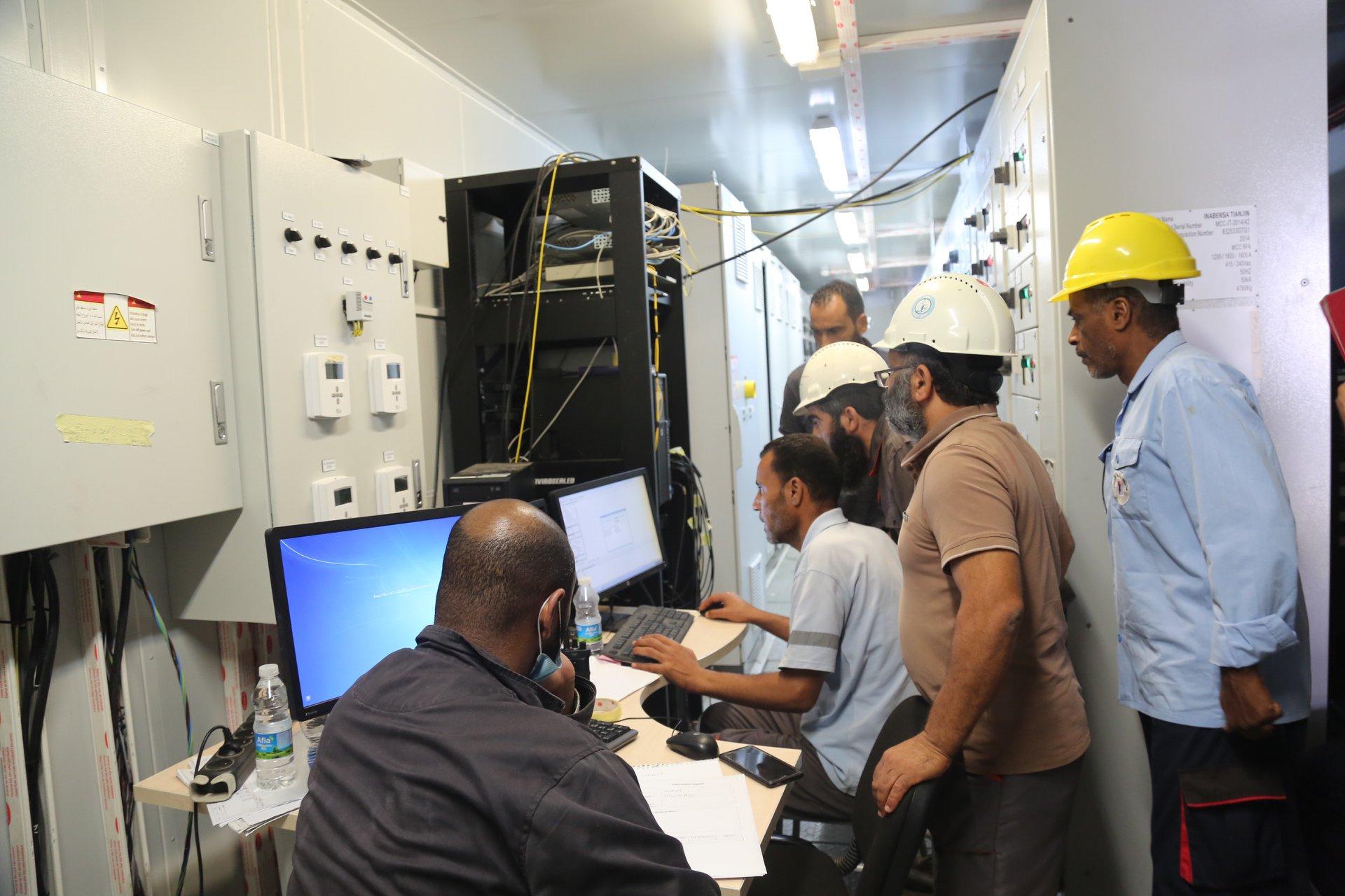 الشركة العامة للكهرباء تعلن دخول المحطة الأولى الخمس للتشغيل اليوم