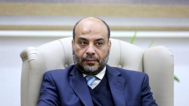 منير عصر - وزير الاقتصاد بالحكومة الليبية