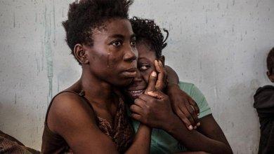 مهاجرتان نيجيريتان في ليبيا- إرشيفية