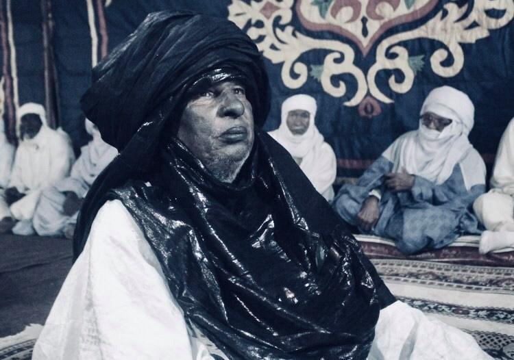 رئيس المجلس الاجتماعي لقبائل التوارق، الحاج حسين الكوني