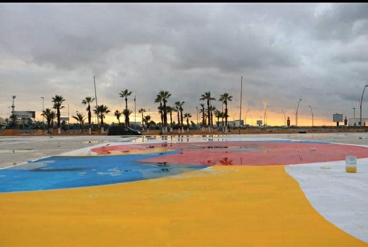 بلدية طرابلس تواصل أعمال تنفيذها لمنتزه فضاء طرابلس الترفيهي