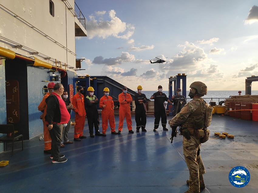 عملية إيريني تواصل عملياتها قبالة السواحل الليبية