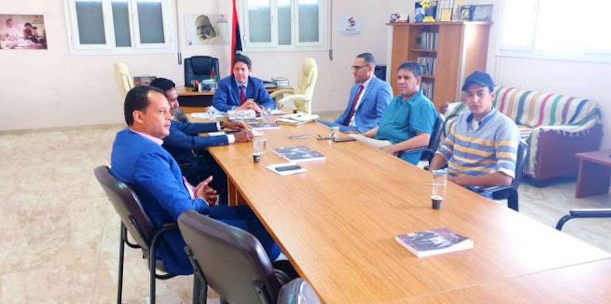 لجنة متابعة أداء المؤسسة الوطنية للنفط بمجلس النواب