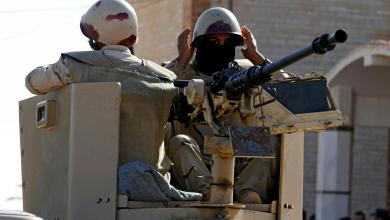 """قوة عسكرية في سيناء -""""أرشيفية عن رويترز"""""""