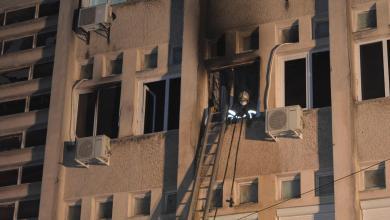 حريق في مستشفى لعلاج كورونا في رومانيا