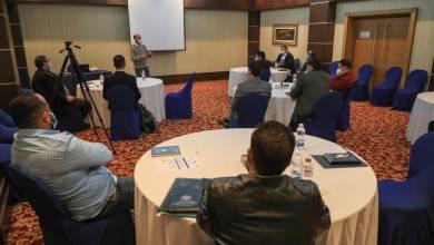 المركز الوطني يقيم دورة تنشيية لعناصر فريق الاستجابة السريعة التابع لبلدية بني وليد