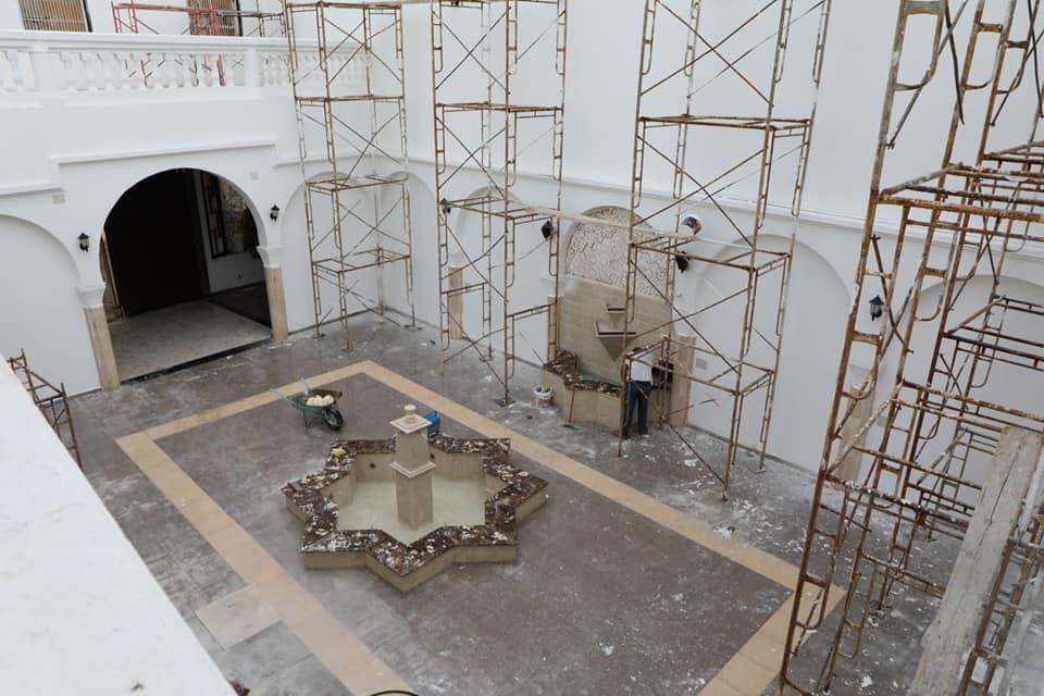 """""""حوش الكيخيا"""".. مبنى تاريخي تسعى بلدية بنغازي إلى تحويله لبيت ثقافي"""