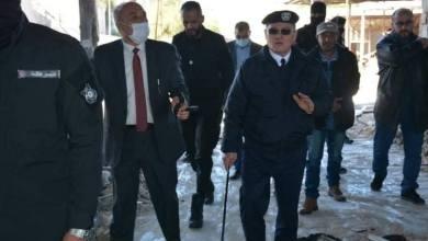 عويدان يتفقد عدد من مقرات البحث الجنائي في طرابلس