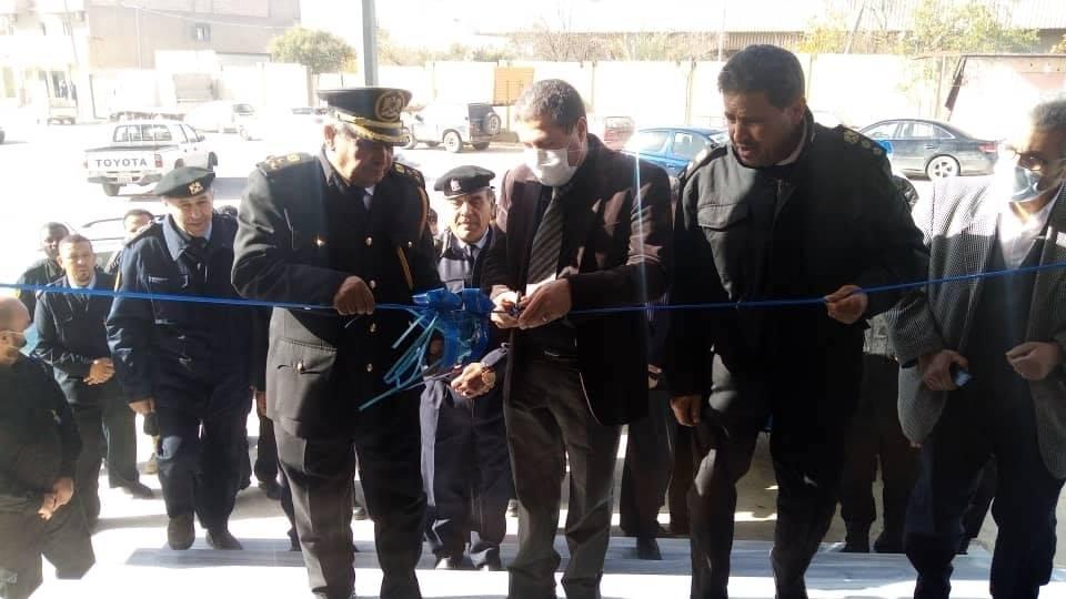 افتتاح فرع الحرس البلدي غريان بعد صيانته