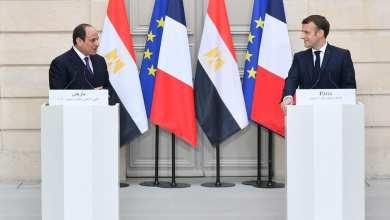 السيسي: علاقتنا مع فرنسا استراتيجية