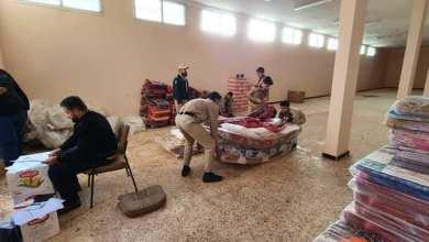 غرفة الطوارىء ببلدية المرج تباشر إغاثتها للمتضررين من سيول الأمطار
