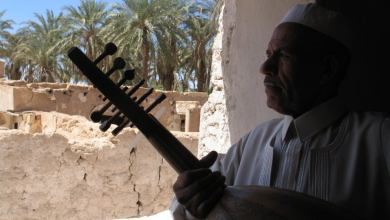 الفنان الليبي الراحل عمر مسعود - بعدسة المخرج مصطفى عبداللطيف