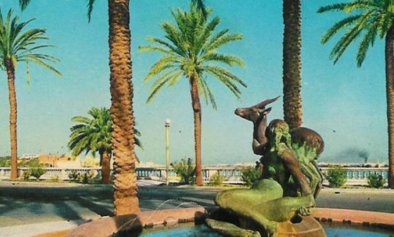 شركة الخدمات العامة تدرس إزالة النخيل من ميدان الغزالة التاريخي في العاصمة الليبية طرابلس