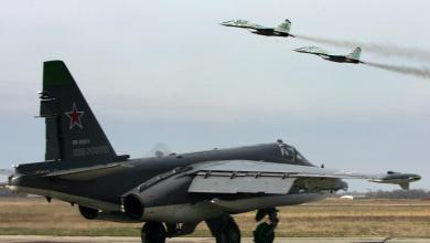 طيران حربي روسي