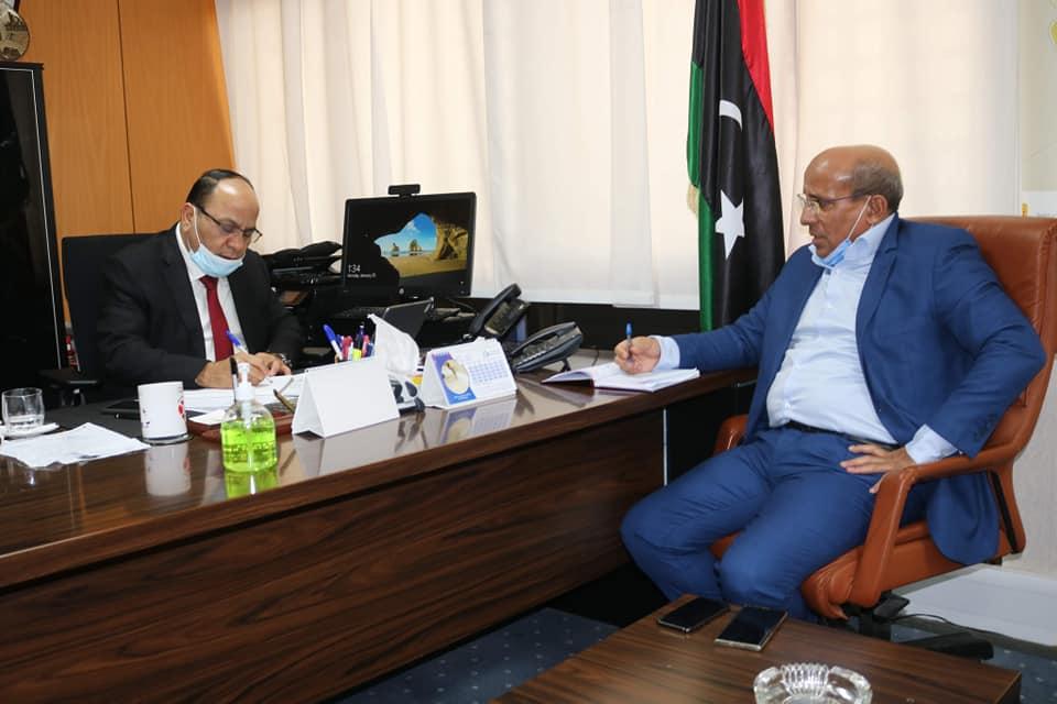 """شركة """"مليتة"""" تطمح لتعزيز التعاون مع الشركة الوطنية للإنشاءات النفطية 4"""