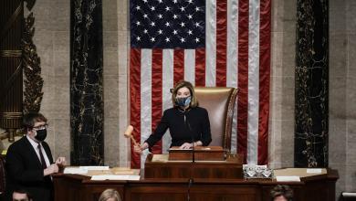 الكونغرس الأميركي يسلم لائحة اتهام ترامب لملجلس الشيوخ