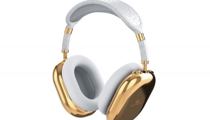 """""""كافيار"""" تُطلق إصداراً ذهبياً من سماعة AirPods Max 4"""