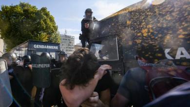 الشرطة الألمانية تستخدم رذاذ الفلفل لفض مظاهرة - أرشيفية
