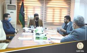 أبومطاري وشكشك في اجتماع حول تطبيق نظام ECTN