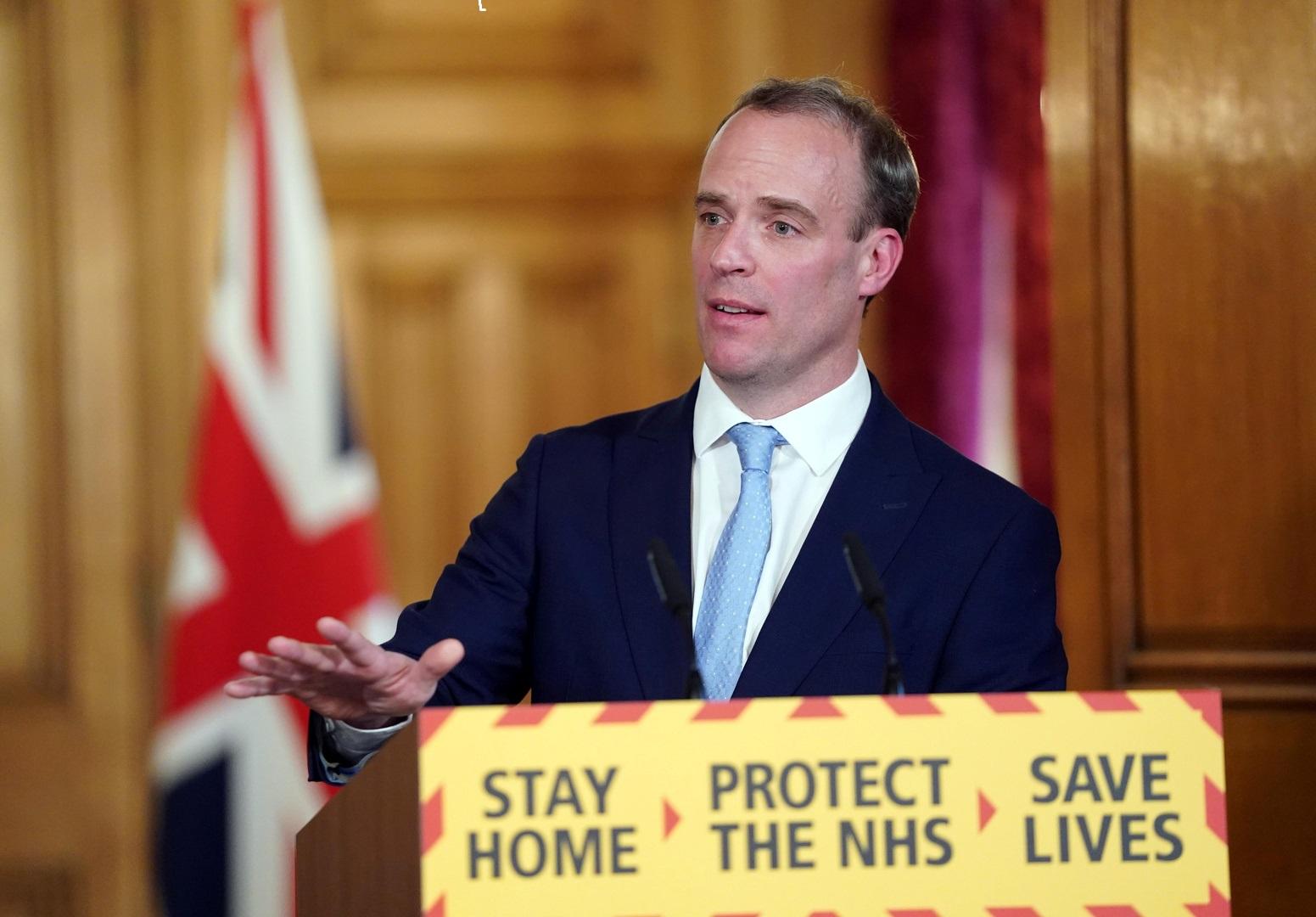 """بريطانيا تدعو لوقف النزاعات المسلحة لإيصال لقاح """"كورونا"""" 4"""