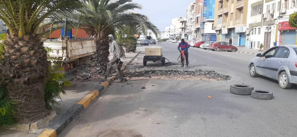 بلدية طرابلس تعلن صيانة عدة مناطق داخل البلدية