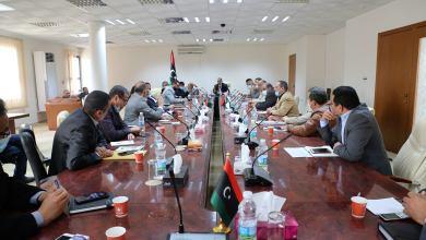 المدير العام للشركة العامة للكهرباء يجتمع مع المديرين العامين لإدارات الشركة لمتابعة سير العمل
