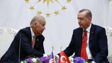 الرئيسان التركي أردوغان والأميركي جو بايدن