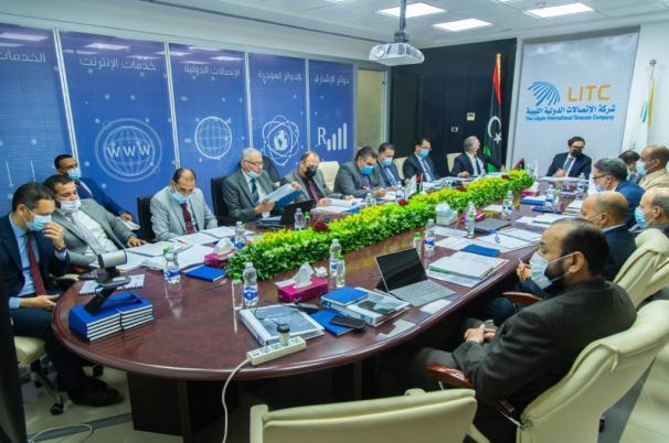 الشركة الليبية للاتصالات
