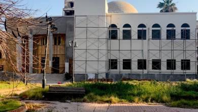 إحدى مراحل تدشين المكتبة الحديثة في مدينة بنغازي