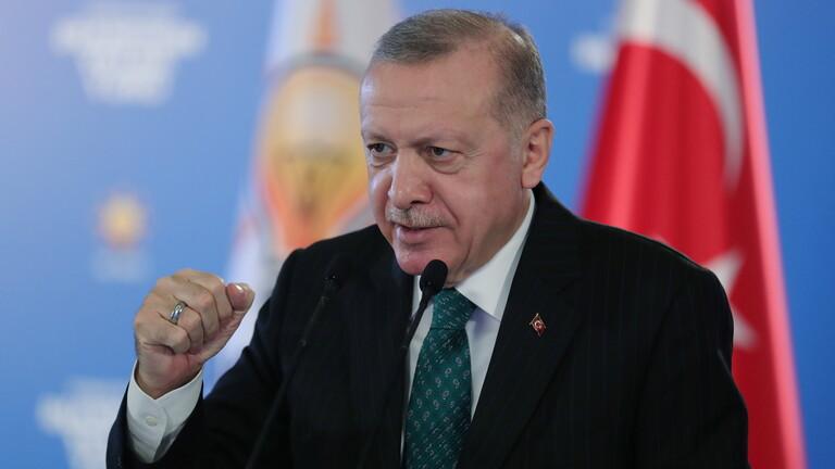 الرئيس التركي طيب رجب أردوغان