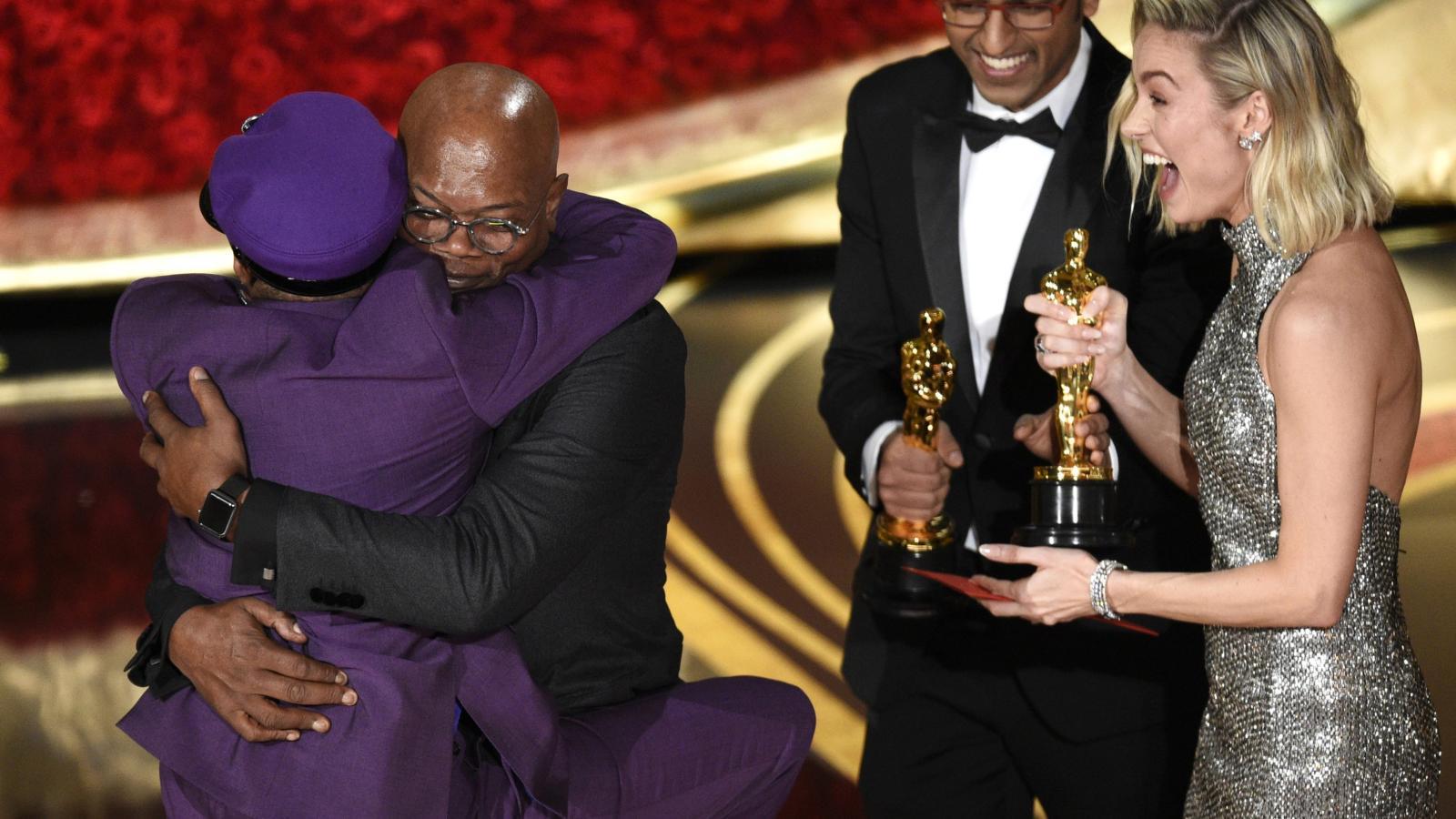 """بهجة نجوم السينما الأميركية في حفل توزيع جوائز الأوسكار -""""أرشيفية"""""""