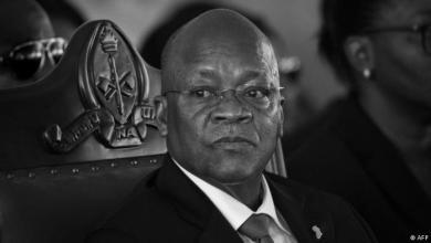 الرئيس التنزاني جون ماغوفولي