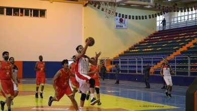مباراة المروج والأهلي بنغازي ضمن الدوري الليبي لكرة السلة