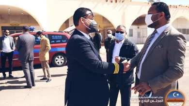 بلدية سبها تعلن استئناف عمل جهاز الإسعاف الطائر