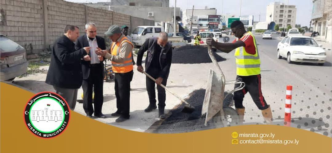 مصراتة.. مشروع معالجة البنية التحتية