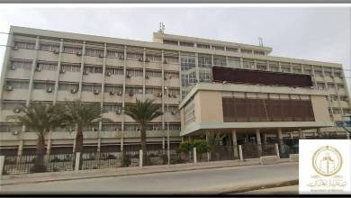 مبنى الخزانة في مدينة بنغازي