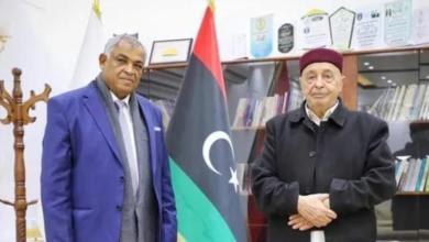 عقيلة صالح يلتقي النائب الأول لرئيس حكومة الوحدة الوطنية
