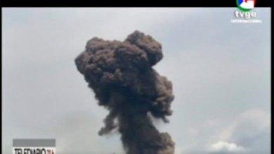 """انفجارات قاعدة نكوانتوما العسكرية في مدينة باتا بــ """"غينيا الإستوائية"""" - التفلزيون الغيني"""