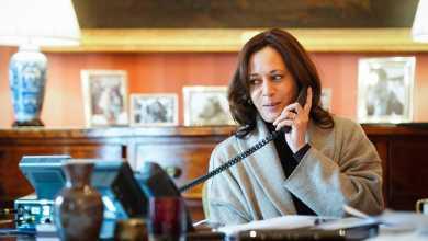"كامالا هاريس نائبة جو بايدن تهاتف بنيامين نيتنياهو مؤكدةً حرص أميركا على أمن ""إسرائيل"""