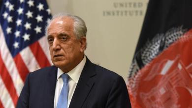 """المبعوث الأميركي لـ""""أفغانستان"""" زلماي خليل زاد – """"أرشيفية"""""""