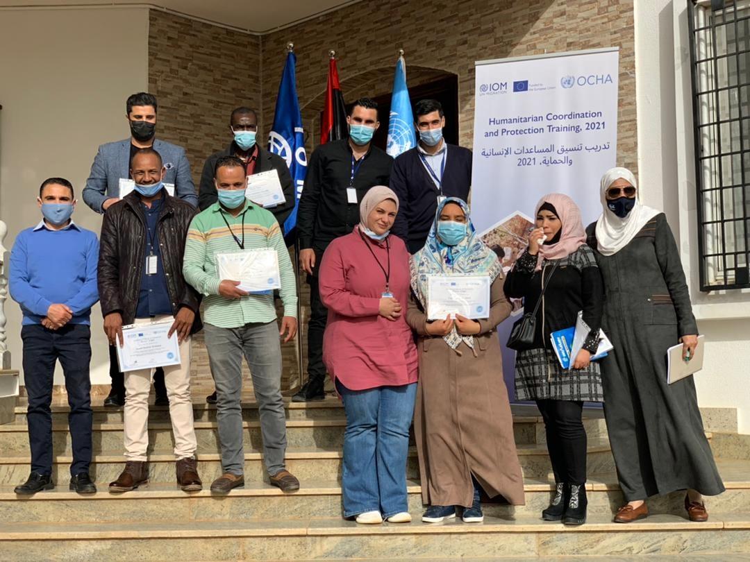 اختتام دورة تدريبية برعاية أممية في ليبيا حول التنسيق الإنساني