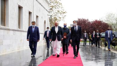 وزير الخارجية الأميركي أنتوني بلينكن يؤكد من كابول دعم بلاده لأفغانستان