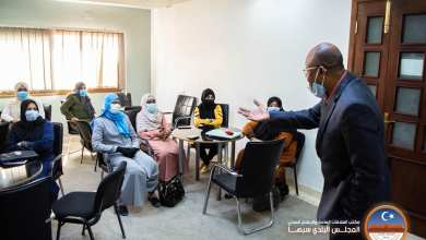 دورة تدريبية في مدينة سبها لتعامل المختص الاجتماعي في مواجهة كورونا بالمؤسسات التعليمية