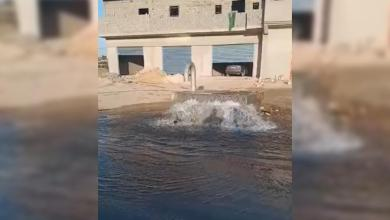 اعتداء يوقف ضخ المياه إلى مدن الجبل