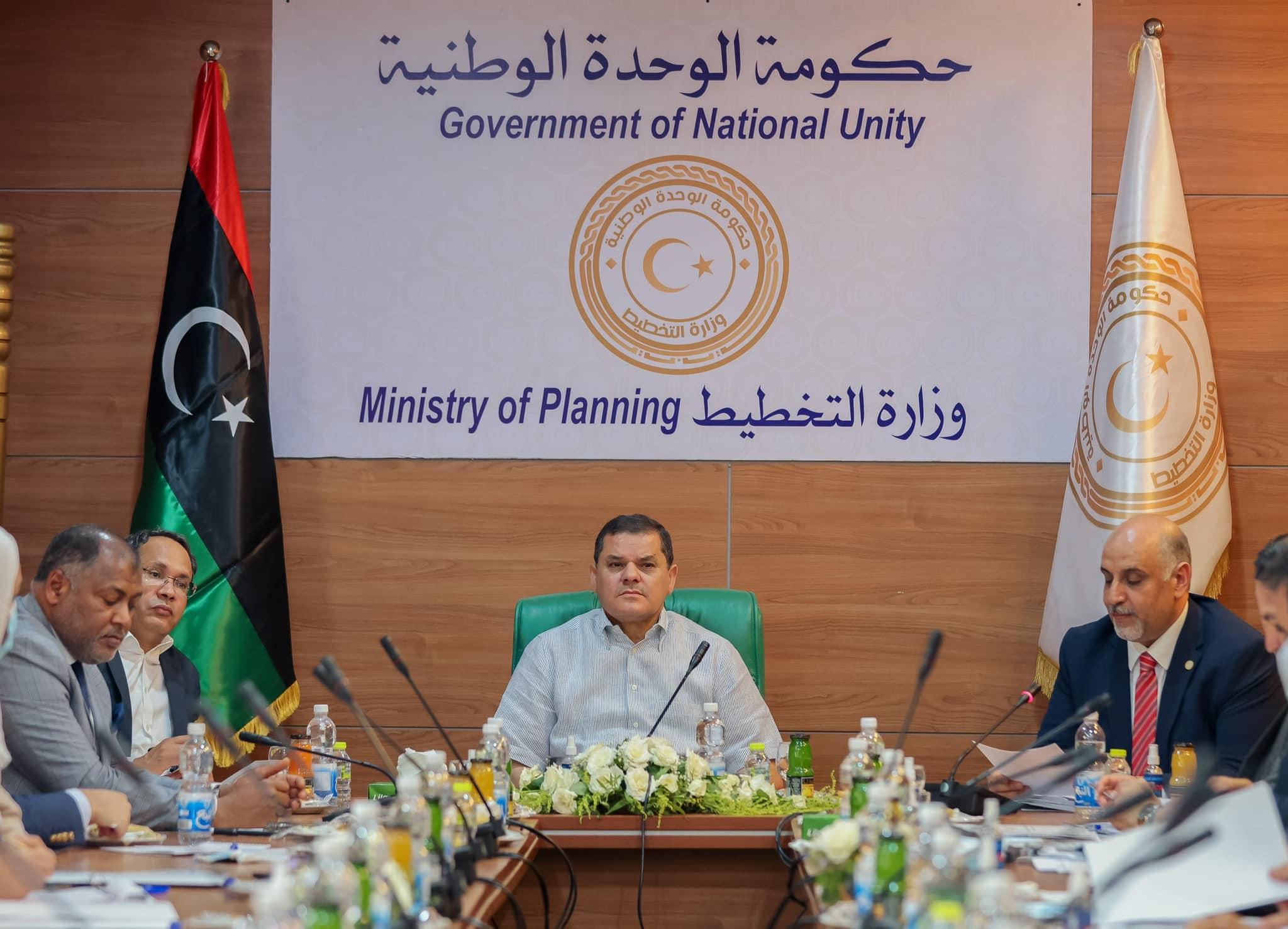حكومة الوحدة الوطنية، عبد الحميد الدبيبة