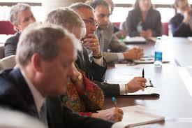 people in seminar
