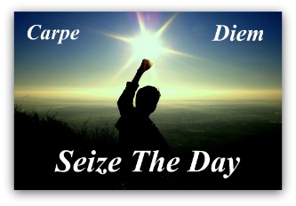 Image result for seize the day christian message