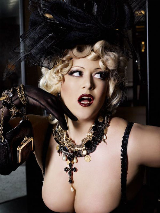 From Dirty Martini's incredible shoot with Karl Lagerfeld ©V Magazine / Models.com